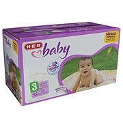 H-E-B Baby Club Pack Diapers, 96 ct