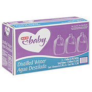 H-E-B Baby Distilled Water 3 PK