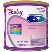 H-E-B Baby Infant Formula with Iron Soy-Based Powder (0-12 Months)