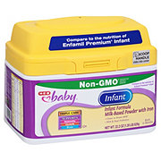 H-E-B Baby Infant Milk-Based Powder Formula (0-12 Months)