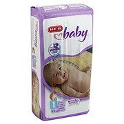 H-E-B Baby Jumbo Diaper, 44 Count