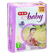 H-E-B Baby Jumbo Pack Diapers, 20 ct