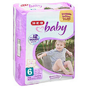 H-E-B Baby Jumbo Pack Diapers, 21 ct