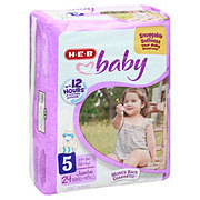 H-E-B Baby Jumbo Pack Diapers, 24 ct