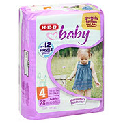 H-E-B Baby Jumbo Pack Diapers, 28 ct