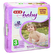 H-E-B Baby Jumbo Pack Diapers, 32 ct