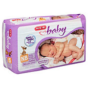H-E-B Baby Jumbo Pack Diapers, 36 Count