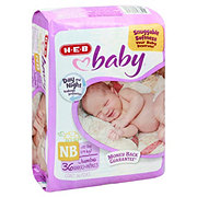 H-E-B Baby Jumbo Pack Diapers, 36 ct