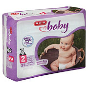 H-E-B Baby Jumbo Pack Diapers, 37 Count