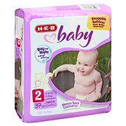 H-E-B Baby Jumbo Pack Diapers, 37 ct