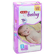 H-E-B Baby Jumbo Pack Diapers, 44 ct