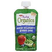 H-E-B Baby Organics Apple Blueberry Green Pea