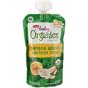 H-E-B Baby Organics Banana Apple Apricot Rice