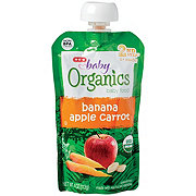 H-E-B Baby Organics Banana Apple Carrot