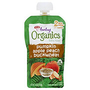 H-E-B Baby Organics Pumpkin Apple Peach Buckwheat