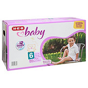 H-E-B Baby Plus Pack Diapers 100 ct