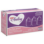 H-E-B Baby Purified Water 3 PK