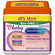 H-E-B Baby Sensitivity Milk-Based Powder Infant Formula with Iron (0-12 Months)