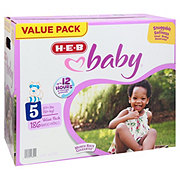 H-E-B Baby Value Pack Diapers 186 ct