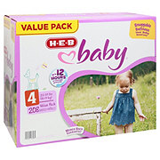 H-E-B Baby Value Pack Diapers, 208 ct