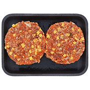 H-E-B Bacon Cheddar Wild Salmon Burgers