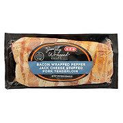 H-E-B Bacon Wrapped Pork Tenderloin with Pepper Jack Cheese