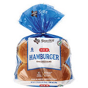 H-E-B Bake Shop Enriched Hamburger Buns