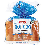 H-E-B Bake Shop Enriched Hot Dog Buns