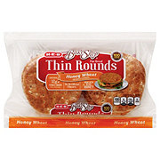 H-E-B Bake Shop Honey Wheat Thin Style Rounds