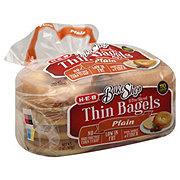 H-E-B Bake Shop Plain Thin Bagels