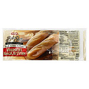 H-E-B Bake Shop Ready to Bake French Baguettes