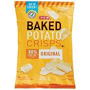 H-E-B Baked Original Potato Crisps