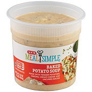 H-E-B Baked Potato Soup