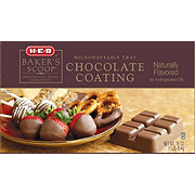 H-E-B Baker's Scoop Chocolate Coating