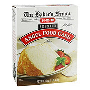 H-E-B Baker's Scoop Premium Angel Food Cake Mix