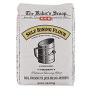 H-E-B Baker's Scoop Self Rising Flour