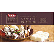 H-E-B Baker's Scoop Vanilla Coating