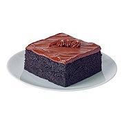 H-E-B Bakery Chocolate Fudge Cake Slice