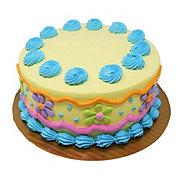 H-E-B Bakery Cookies & Cream Ice Cream With Chocolate Cake