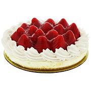 H-E-B Bakery Fresh Strawberry Cheesecake