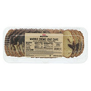 H-E-B Bakery Marble Creme Loaf Cake with Streusel Topping