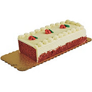 H-E-B Bakery Red Velvet Sensational Bar Cake