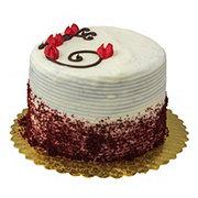 H-E-B Bakery Sensational Layered Red Velvet Cake