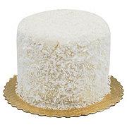 H-E-B Bakery Sensational White With French Buttercream Coconut Cake
