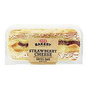 H-E-B Bakery Strawberry Cheese Coffee Cake