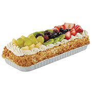H-E-B Bakery Tres Leches 1/8 Sheet With Fully Topped Fruit