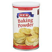H‑E‑B Baking Powder ‑ Shop Baking Soda & Powder at H‑E‑B
