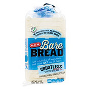 H-E-B Bare Bread Crustless White Bread