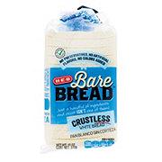 H-E-B Bare Bread Crustless White Bread