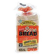 H-E-B Bare Bread Crustless Whole Wheat Bread
